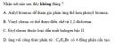 Bài 8.4 trang 61 Sách bài tập (SBT) Hóa học 11 Nâng cao