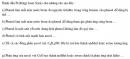 Bài 8.46 trang 69 Sách bài tập (SBT) Hóa học 11 Nâng cao