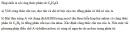 Bài 8.5 trang 61 Sách bài tập (SBT) Hóa học 11 Nâng cao