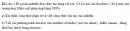 Bài 9.3 trang 70 Sách bài tập (SBT) Hóa học 11 Nâng cao