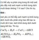 Bài 1.38 trang 9 Sách bài tập (SBT) Hóa học 11 Nâng cao