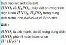 Bài 2.5 trang 12 Sách bài tập (SBT) Hóa học 11 Nâng cao