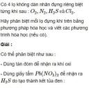 Bài 2.9 trang 13 Sách bài tập (SBT) Hóa học 11 Nâng cao