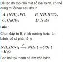 Bài 2.18 trang 16 Sách bài tập (SBT) Hóa học 11 Nâng cao