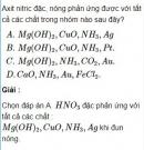 Bài 2.24 trang 17 Sách bài tập (SBT) Hóa học 11 Nâng cao