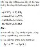 Bài 2.35 trang 19 Sách bài tập (SBT) Hóa học 11 Nâng cao
