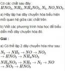 Bài 2.36 trang 19 Sách bài tập (SBT) Hóa học 11 Nâng cao
