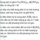 Bài 2.41 trang 20 Sách bài tập (SBT) Hóa học 11 Nâng cao
