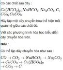 Bài 3.10 trang 26 Sách bài tập (SBT) Hóa học 11 Nâng cao