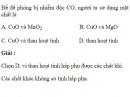 Bài 3.11 trang 27 Sách bài tập (SBT) Hóa học 11 Nâng cao