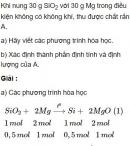 Bài 3.22 trang 29 Sách bài tập (SBT) Hóa học 11 Nâng cao