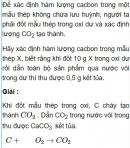 Bài 3.7 trang 26 Sách bài tập (SBT) Hóa học 11 Nâng cao