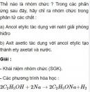 Bài 4.10 trang 32 Sách bài tập (SBT) Hóa học 11 Nâng cao