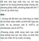 Bài 4.2 trang 31 Sách bài tập (SBT) Hóa học 11 Nâng cao