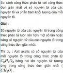 Bài 4.20 trang 34 Sách bài tập (SBT) Hóa học 11 Nâng cao