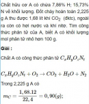 Bài 4.23 trang 34 Sách bài tập (SBT) Hóa học 11 Nâng cao