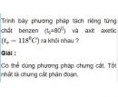 Bài 4.3 trang 31 Sách bài tập (SBT) Hóa học 11 Nâng cao