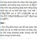 Bài 4.5 trang 31 Sách bài tập (SBT) Hóa học 11 Nâng cao