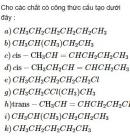 Bài 4.38 trang 37 Sách bài tập (SBT) Hóa học 11 Nâng cao