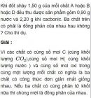 Bài 4.39 trang 37 Sách bài tập (SBT) Hóa học 11 Nâng cao