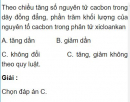 Bài 5.20 trang 44 Sách bài tập (SBT) Hóa học 11 Nâng cao