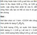 Bài 9.22 trang 73 Sách bài tập (SBT) Hóa học 11 Nâng cao