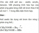 Bài 9.24 trang 74 Sách bài tập (SBT) Hóa học 11 Nâng cao