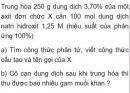 Bài 9.25 trang 74 Sách bài tập (SBT) Hóa học 11 Nâng cao