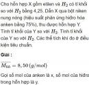 Bài 6.11 trang 48 Sách bài tập (SBT) Hóa học 11 Nâng cao