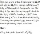 Bài 6.13 trang 49 Sách bài tập (SBT) Hóa học 11 Nâng cao