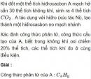 Bài 6.14 trang 49 Sách bài tập (SBT) Hóa học 11 Nâng cao