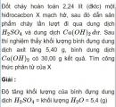 Bài 6.15 trang 49 Sách bài tập (SBT) Hóa học 11 Nâng cao