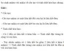 Bài 6.36 trang 53 Sách bài tập (SBT) Hóa học 11 Nâng cao