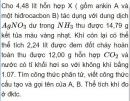 Bài 6.42 trang 54 Sách bài tập (SBT) Hóa học 11 Nâng cao