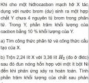 Bài 7.24 trang 59 Sách bài tập (SBT) Hóa học 11 Nâng cao