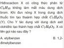 Bài 7.4 trang 55 Sách bài tập (SBT) Hóa học 11 Nâng cao