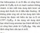 Bài 7.6 trang 56 Sách bài tập (SBT) Hóa học 11 Nâng cao