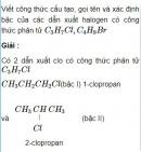 Bài 8.10 trang 62 Sách bài tập (SBT) Hóa học 11 Nâng cao