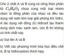 Bài 8.27 trang 65 Sách bài tập (SBT) Hóa học 11 Nâng cao