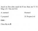 Bài 8.28 trang 65 Sách bài tập (SBT) Hóa học 11 Nâng cao