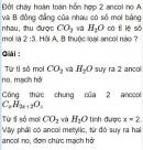Bài 8.31 trang 66 Sách bài tập (SBT) Hóa học 11 Nâng cao