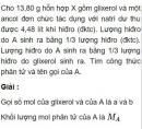 Bài 8.32 trang 66 Sách bài tập (SBT) Hóa học 11 Nâng cao