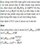 Bài 8.42 trang 68 Sách bài tập (SBT) Hóa học 11 Nâng cao