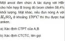 Bài 8.44 trang 68 Bài 8.43 trang 68 Sách bài tập (SBT) Hóa học 11 Nâng cao