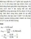 Bài 9.13 trang 72 Sách bài tập (SBT) Hóa học 11 Nâng cao