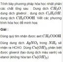 Bài 9.2 trang 70 Sách bài tập (SBT) Hóa học 11 Nâng cao