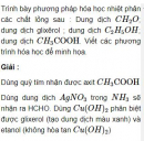 Bài 9.4 trang 70 Sách bài tập (SBT) Hóa học 11 Nâng cao