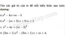 Câu 4.57 trang 112 SBT Đại số 10 Nâng cao