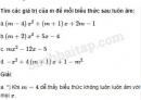 Câu 4.58 trang 112 SBT Đại số 10 Nâng cao