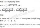 Câu 4.62 trang 113 SBT Đại số 10 Nâng cao